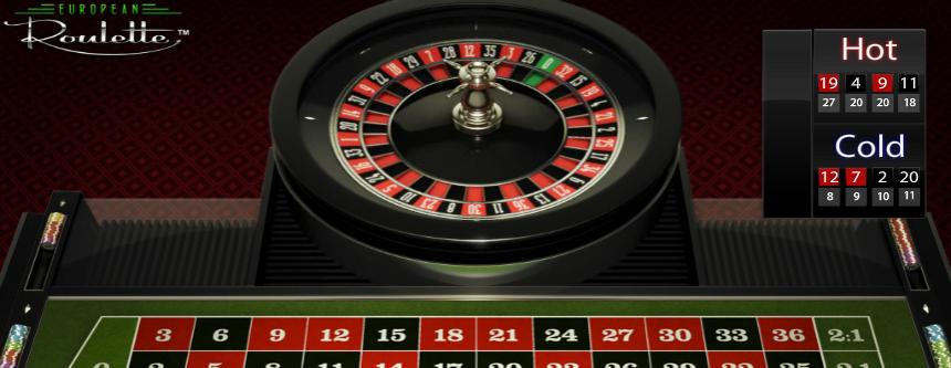 Prova på europeisk roulette