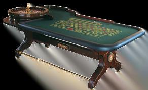 klassiskt roulette bord